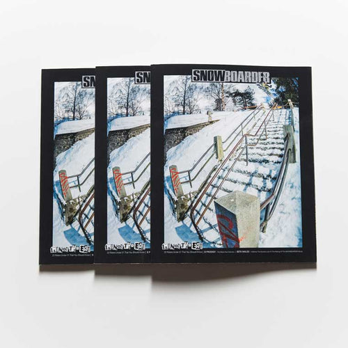 ISSUE 31.1 SNOWBOARDER Box (30 Copies)