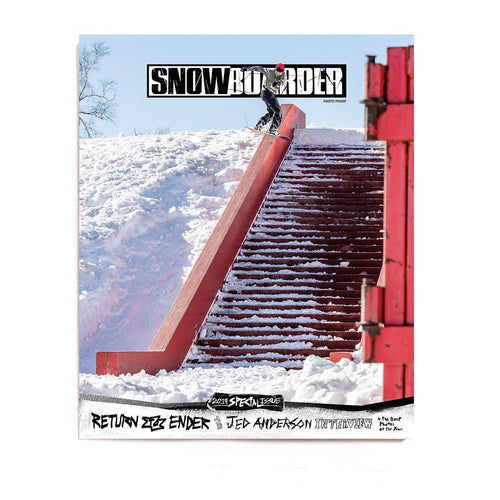 SNOWBOARDER VOLUME 31—Issue 4 w/ Jed Anderson