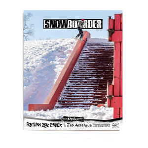 SNOWBOARDER Vol. 31 Issue 4, January 2019, Jed Anderson Cover
