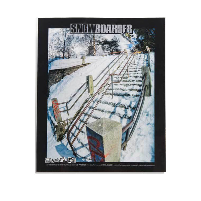 SNOWBOARDER Vol. 31 Issue 1, October 2018, Dillon Ojo Cover