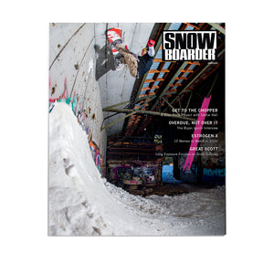 Snowboarder Vol. 32 Issue 4, December 2020, Reid Smith Cover