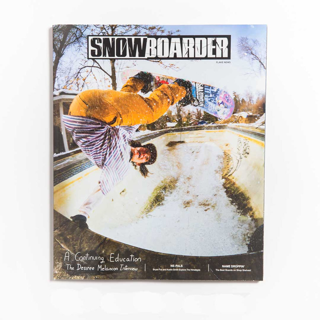 Copy of 31.2 Single Issue - SNOWBOARDER Magazine