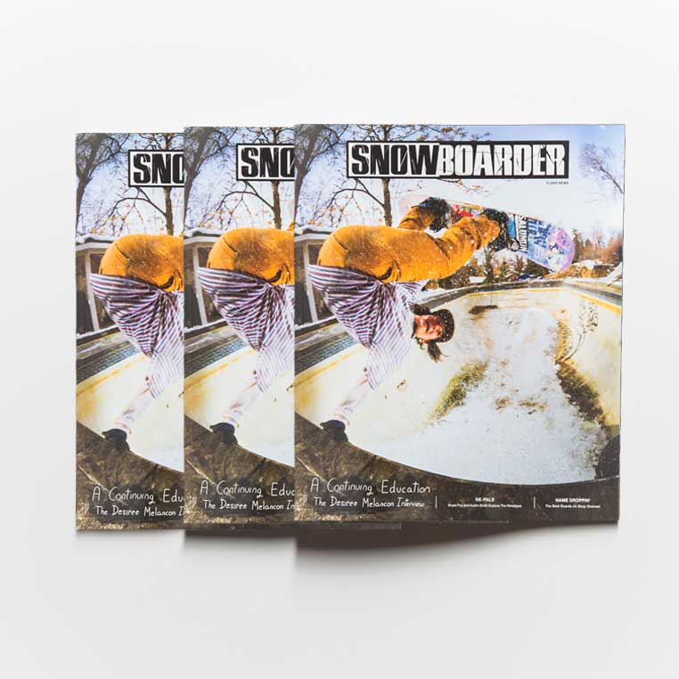 ISSUE 31.2 SNOWBOARDER Box (30 Copies)