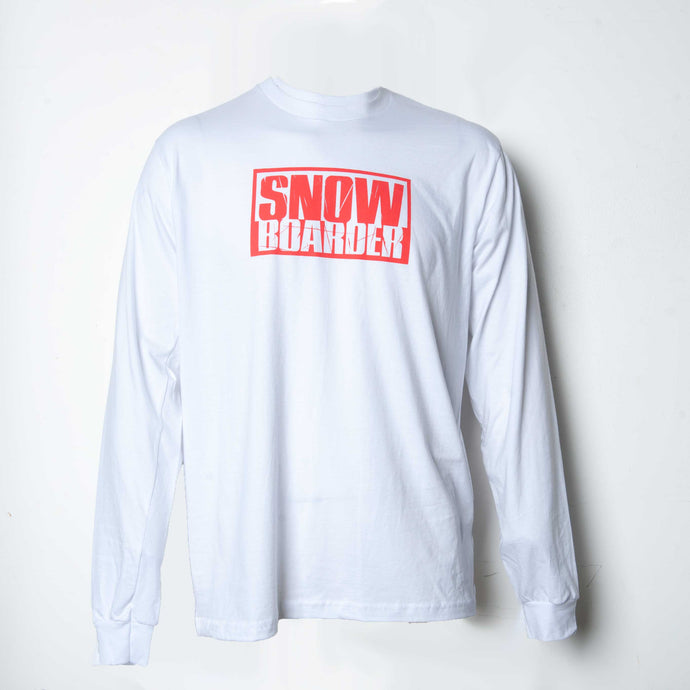 Long Sleeve SNOWBOARDER Shirt