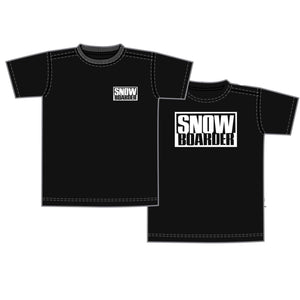 SNOWBOARDER T-Shirt Short Sleeve