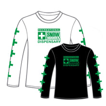 Load image into Gallery viewer, SNOWBOARDER Long Sleeve Dispensary T-Shirt
