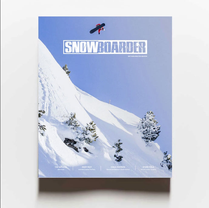 SNOWBOARDER VOLUME 31—Issue 3 w/ Arthur Longo