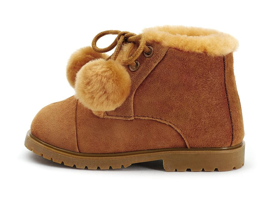 Age of Innocence Zoey Pompom boots
