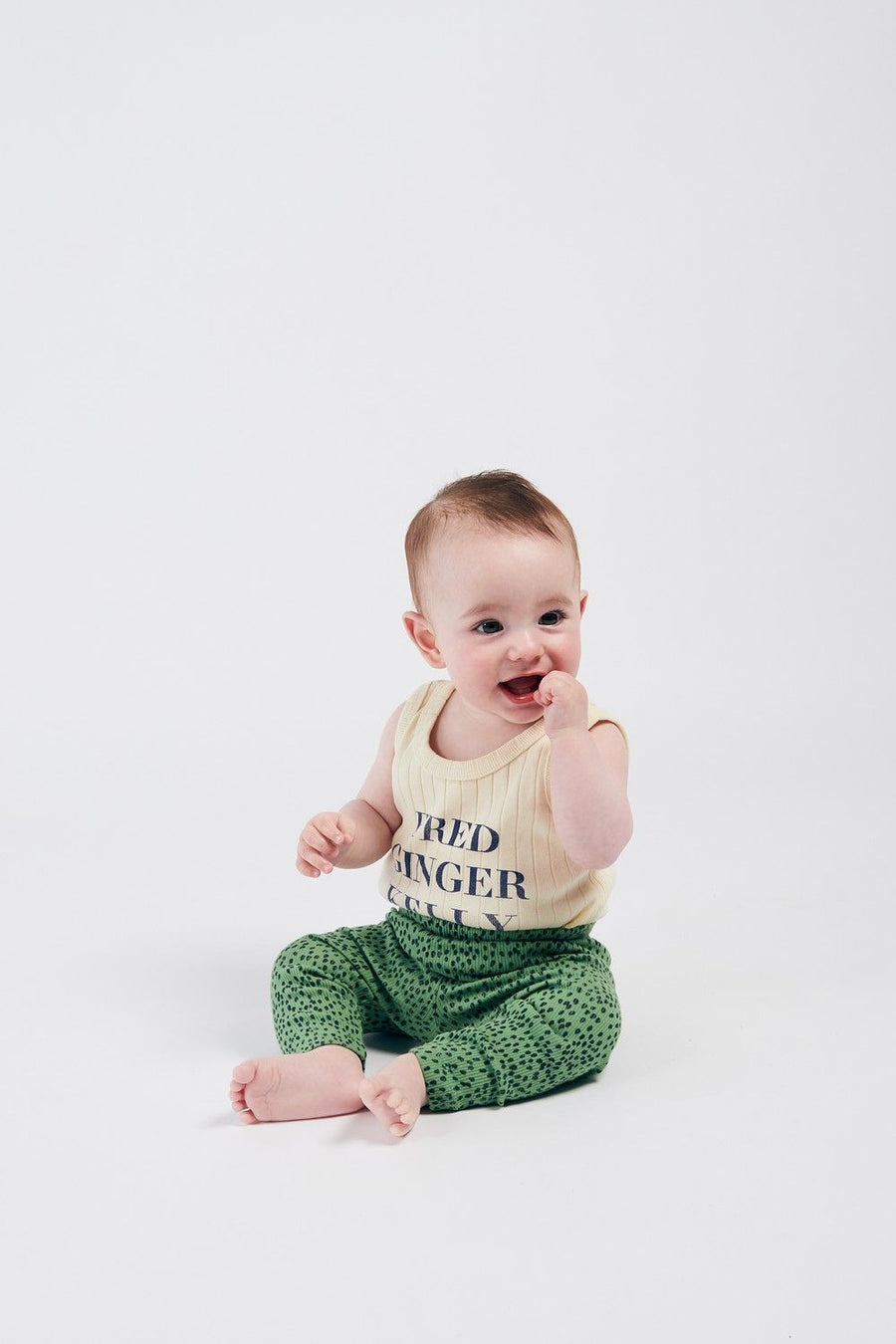 Bobo Choses Baby Fred, Ginger & Kelly Sleeveless Body
