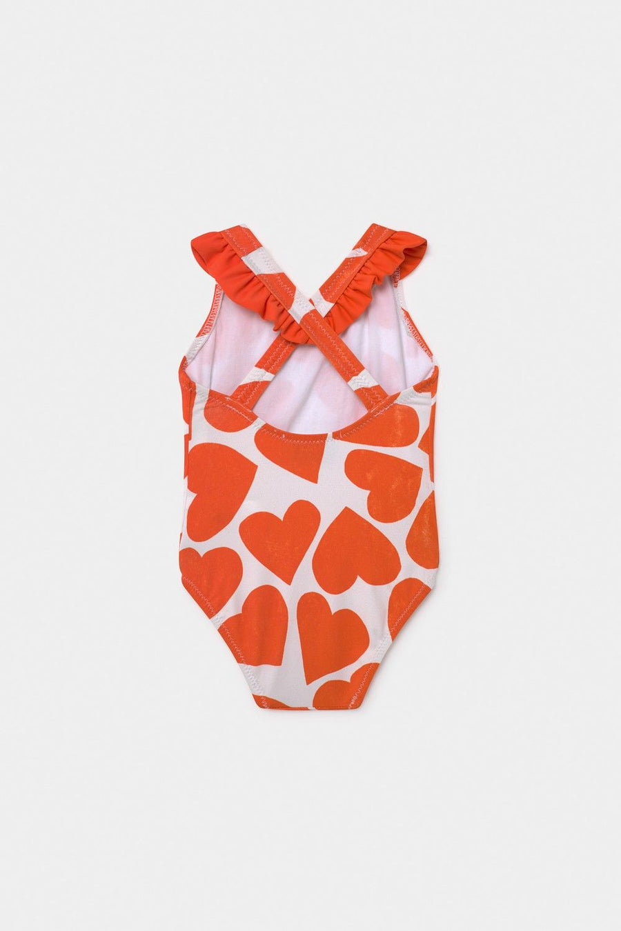 Bobo Choses Baby All Over Hearts Baby Swimsuit