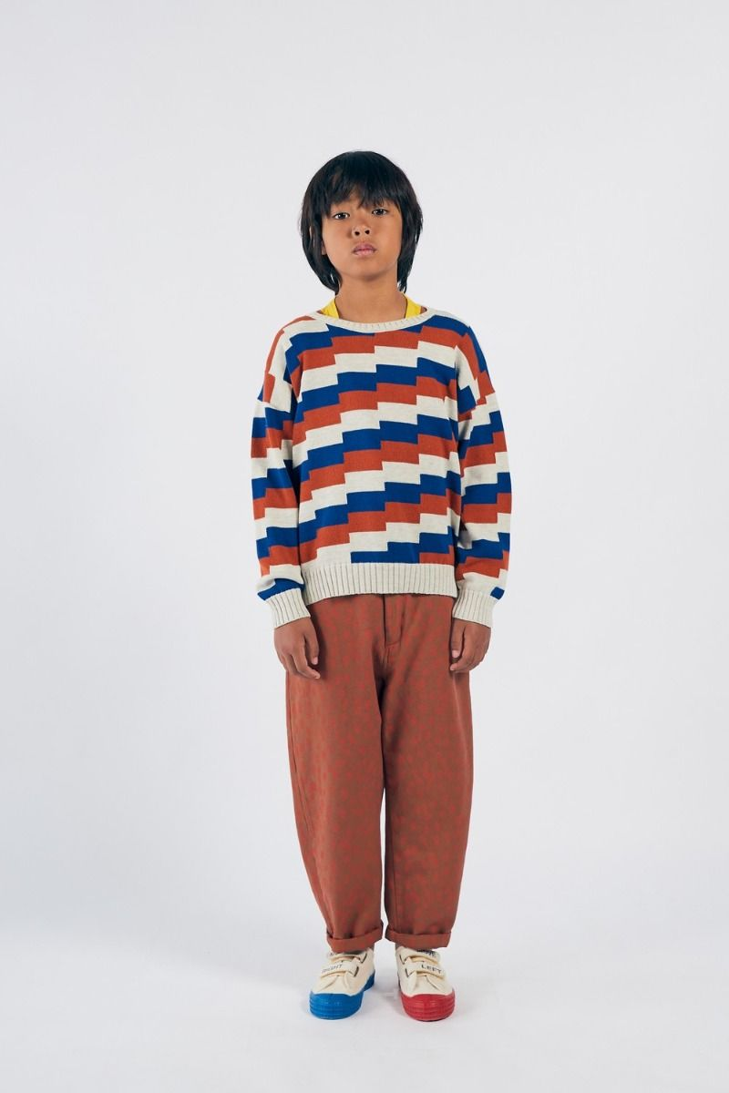 Bobo Choses Geometric Knitted Jumper