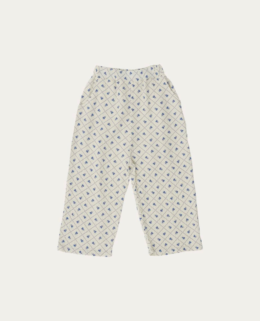 The Campamento Check and Flowers Pants