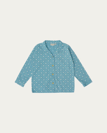 The Campamento Checks and Flowers Shirt