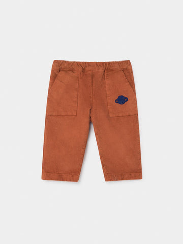 BOBOCHOSES BABY SATURN CORDUROY STRAIGHT PANTS
