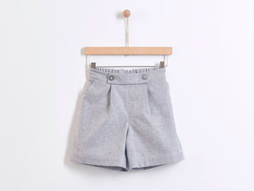 YELLOWSUB Glitter Grey Shorts