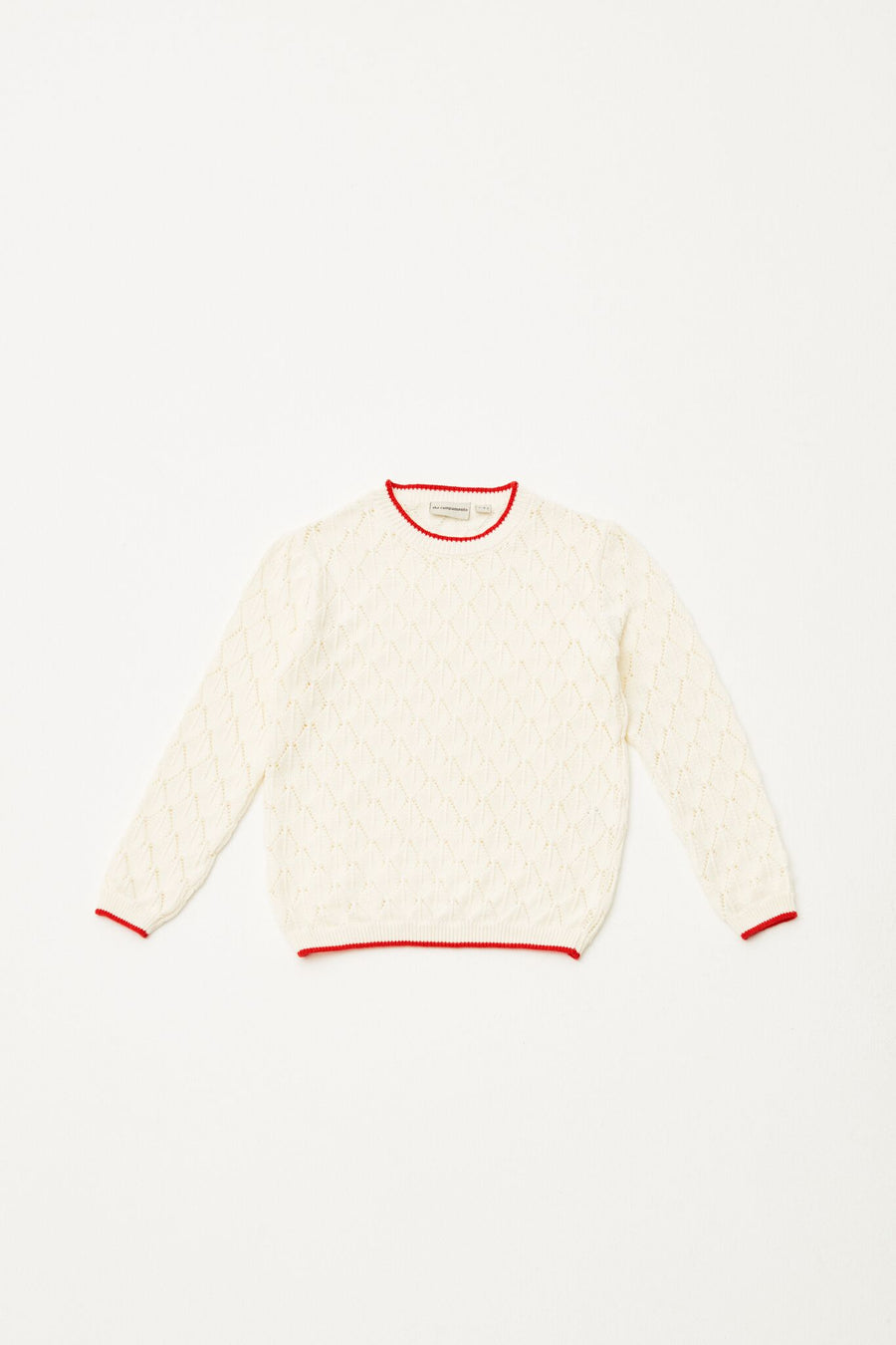 THE CAMPAMENTO OPEN KNITTED JUMPER