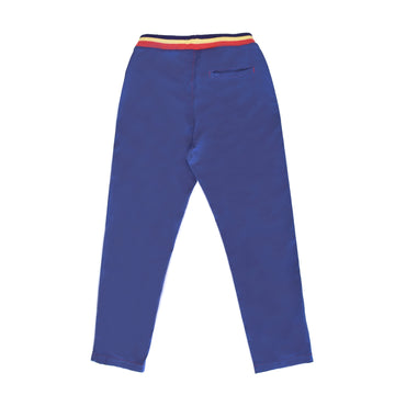 BARN OF MONKEYS WAIST BAND PANTS DEEP BLUE