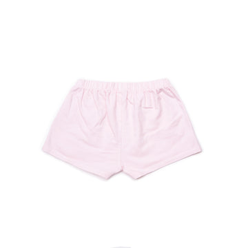 BARN OF MONKEYS PLAIN SHORTS OLD PINK