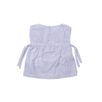 BARN OF MONKEYS STRIPED TOP STIPED BLUE