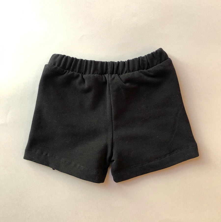 YELLOWSUB Frilled Shorts Black
