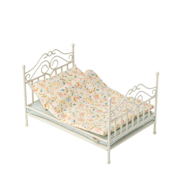 Maileg Accessories - Vintage Bed Soft Sand