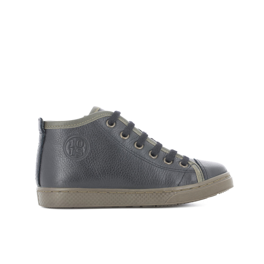 10is High Top Sneakers Blue/Olive