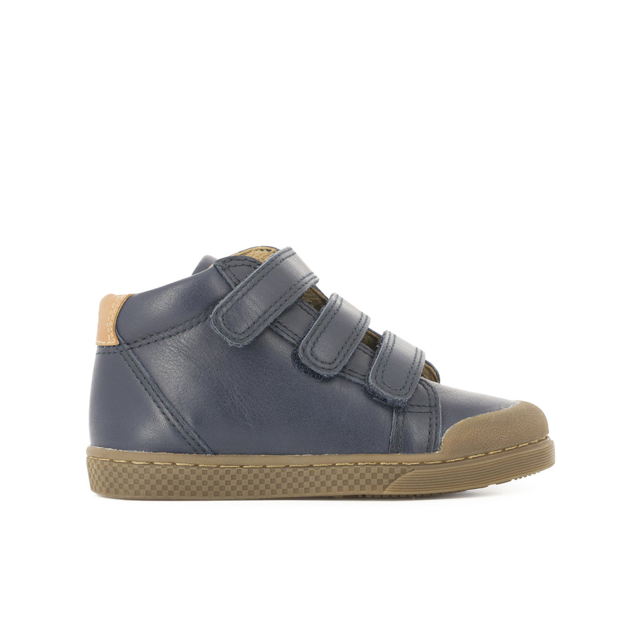 10is High Top Blue Velcro Sneakers