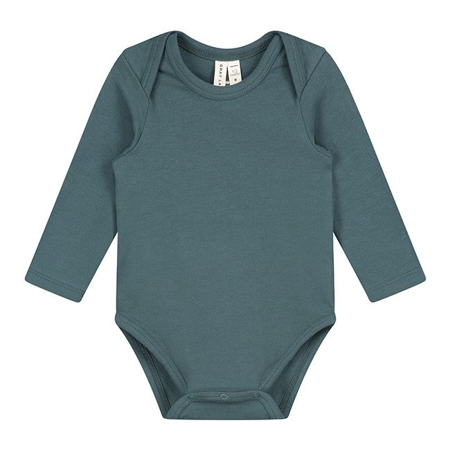 GRAY LABEL BABY L/S ONESIE