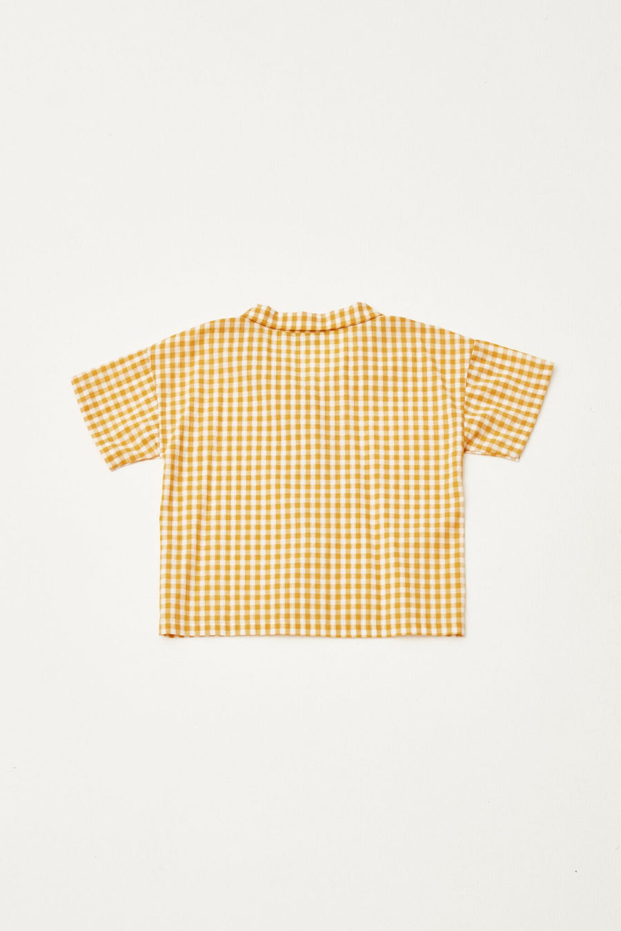 THE CAMPAMENTO CHECKED SHIRT