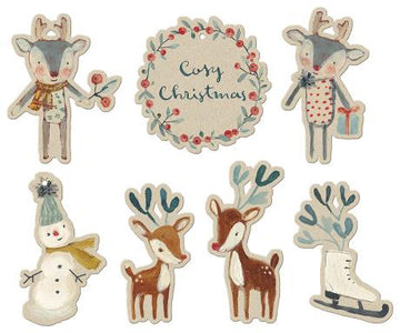 Maileg Cosy Christmas, Gift Tags 14 pcs