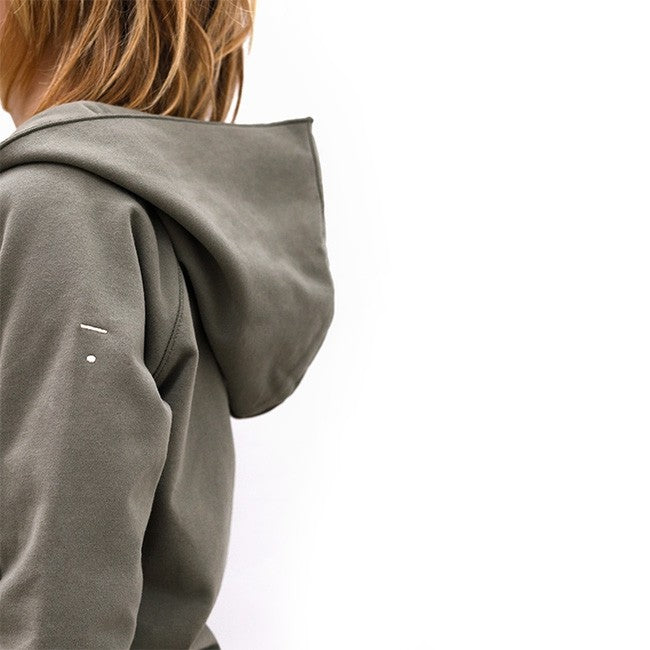 GRAY LABEL RELAXED HOODED CARDIGAN