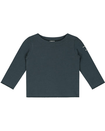 Gray Label Baby L\S Tee Blue Grey
