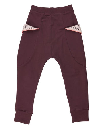 WAUW CAPOW MIA PANTS RED WINE