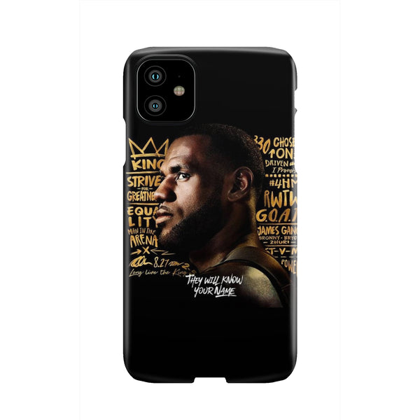 They Will Know Your Name Phone Case