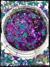 Load image into Gallery viewer, Violet & Jade Chameleon Special Effect Flakes