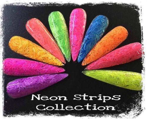 Neon Matte Strips Collection