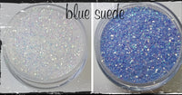 Fairy Dust~~Light altering glitter -  Blue Suede