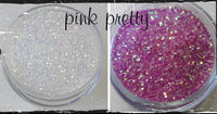 Fairy Dust~~Light altering glitter - Pink Pretty