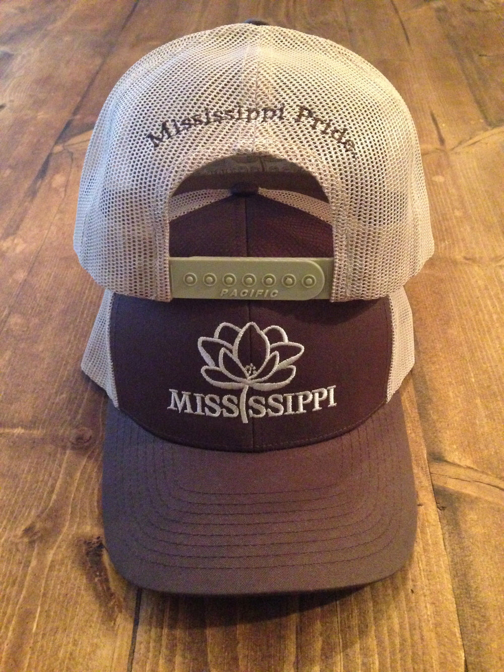 Mississippi Pride Trucker Hat (Brown)