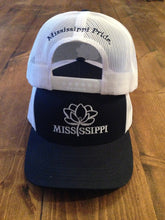 Load image into Gallery viewer, Mississippi Pride Trucker Hat (Navy)