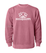 Load image into Gallery viewer, Mississippi Pride Logo Sweatshirt