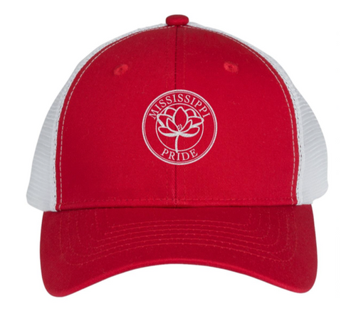 Mississippi Pride Classic Trucker Hat (Red)
