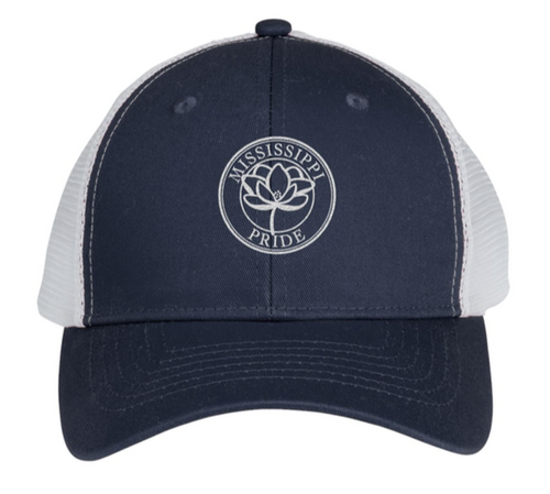 Mississippi Pride Classic Trucker Hat (Navy)