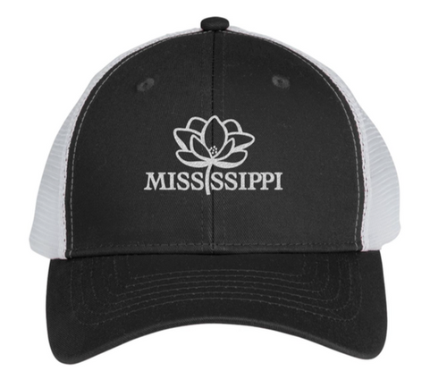Mississippi Pride Trucker Hat (Black)