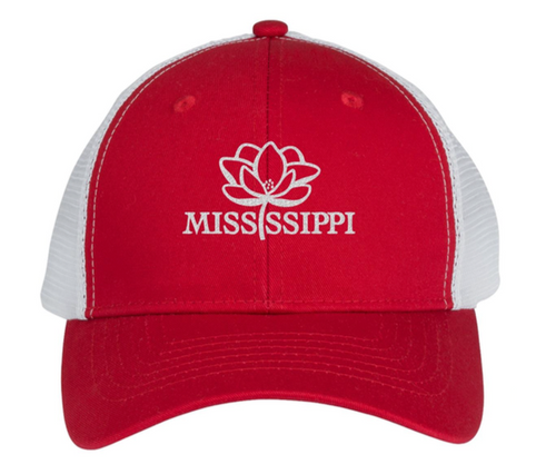 Mississippi Pride Trucker Hat (Red)