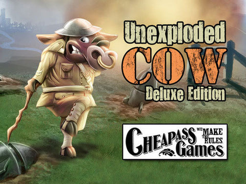 Unexploded Cow Deluxe - The Board Gamer