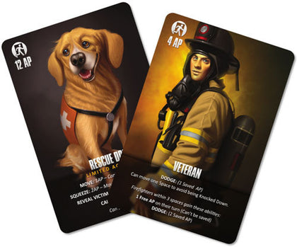 Flash Point - Veteran & Rescue Dog Accessory Pack - The Board Gamer