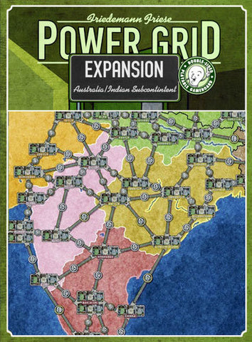 Power Grid - India & Australia Expansion - The Board Gamer