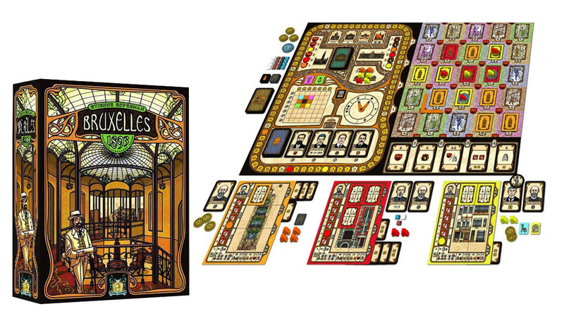 Bruxelles 1893 - Board Game