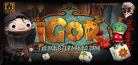 Igor: The Monster Making Game - The Board Gamer